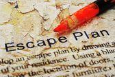 Escape plan — Stock Photo