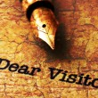 Dear visitor — Stock Photo #62017361
