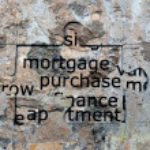 Mortgage puzzle concept — Stock Photo #62887525