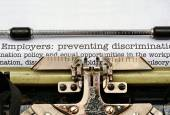 Employers discrimination — Stock Photo