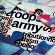 Army puzzle concept — Stock Photo #63611775