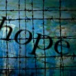 Hope and Barbwire concept — Stock Photo #66237739