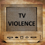 TV violence — Stock Photo #66238073