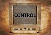 TV control concept — Stock Photo
