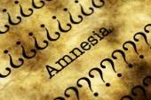 Amnesia concept — Stock Photo