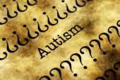 Conceito de autismo — Fotografia Stock