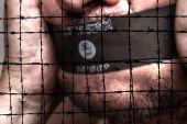 Islamic state censorship — Stock Photo