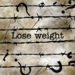 Lose weight concept — Stock Photo #71521749