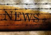Forbidden news — Stock Photo