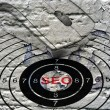Seo target concept — Stock Photo #72419799