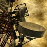 Telecommunications tower — Stock Photo #72976433