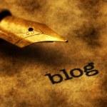 Blog concept — Stock Photo #73702765