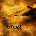 Blog concept — Stock Photo #73995177