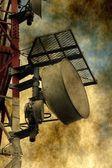 Grunge telecommunication — Stock Photo