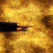 Love letter and fountain pen — Stock Photo #74336069