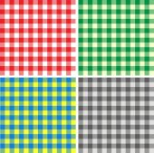 Vector set of tablecloth — Vetorial Stock