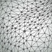 Irregular triangle background — Stock Vector