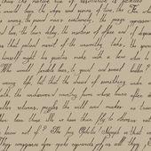 Hand written vintage pattern — Stock Vector