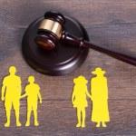 Family divorce concept — Stock Photo #53931951