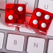Online gambling concept — Stock Photo #55140035