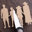 Family divorce concept — Stock Photo #55140197
