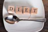 Diet and weight loss concept — Foto Stock