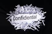 Data confidentiality concept — Stock Photo
