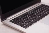Keyboard of laptop computer — Стоковое фото