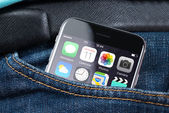 Apple iPhone 6 With Various Apps On Screen In Pocket — Stock Photo