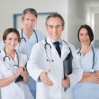 Doctor With Team — Stock Photo #57173807