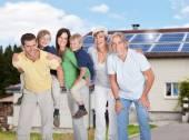 Multi Generation Family — Stock Photo