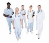 Multiethnic Medical Team — Stock Photo