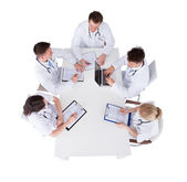 Doctors With Medical Charts — Stock Photo