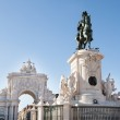 Statue Of King Jose I — Stock Photo #57722273
