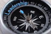 Compass Indicating Leadership — Stock Photo