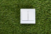 Switch On Grass — Stock Photo