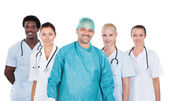 Confident Medical Team — Stock Photo