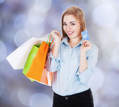 Businesswoman  Shopping — Stock Photo