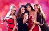 Women  At Nightclub — Stock Photo