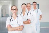 Doctors  At Hospital — Stock Photo