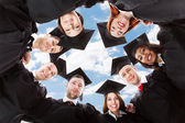 Multiethnic Graduates — Stock Photo