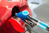 Car With Gas Pump — Stock Photo