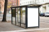 Bus Stop Travel Station — Stock Photo