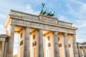 Brandenburger tor, berlin — Stok fotoğraf