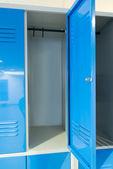 Open Lockers In Room — Stock Photo