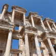 Roman Library of Celsus in Ephesus — Stock Photo #64648623
