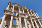 Roman Library of Celsus in Ephesus — Stock Photo