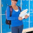 Female Student Holding Book — Stock Photo #65209003