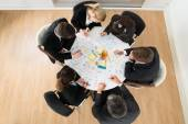 Businesspeople Discussing At Meeting — Stock Photo
