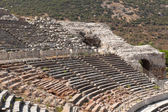 Ancient amphitheater in Ephesus — Stock Photo